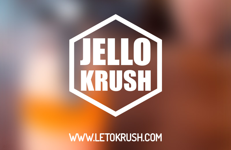 jello krush by leto krush brand design