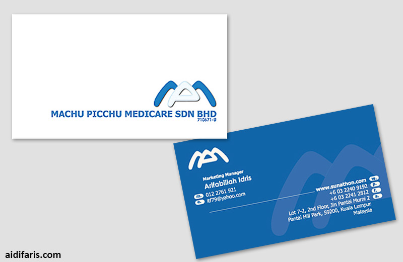 medicare business card