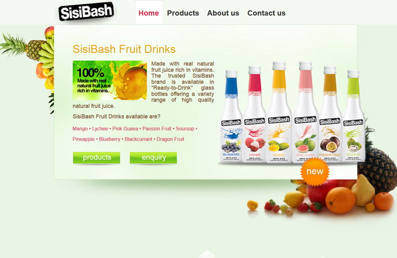sisibash tropical fruit juice